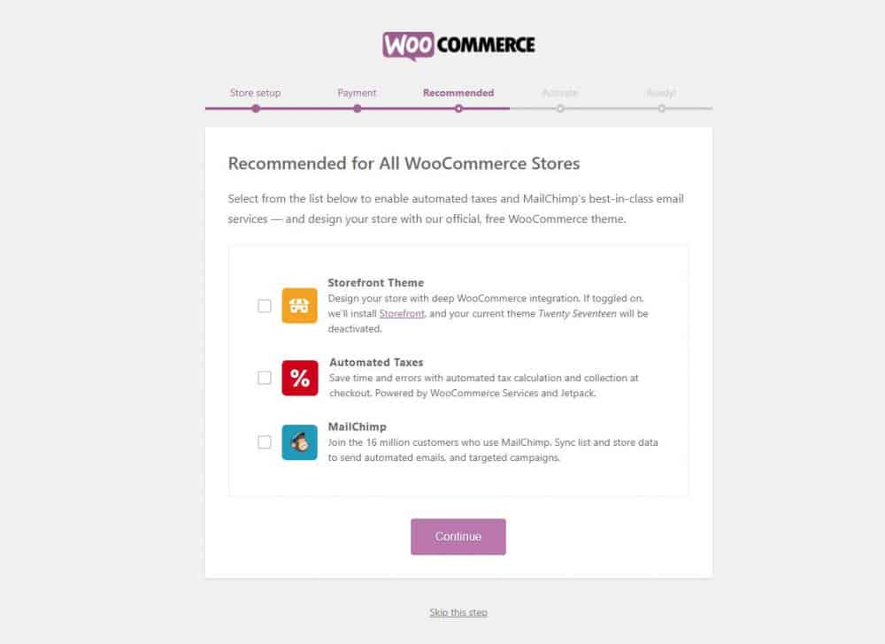 Recommended For All WooCommerce Stores